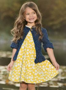 Persnickety Clothing - Penny Dress - Yellow | Sail Away