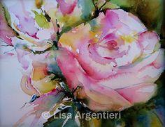 Lisa Argentieri watercolor paintings