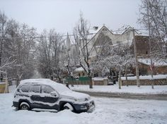 Visiting Ifrane in winter? Rug up, it gets very cold!