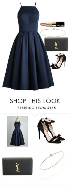 """""""Untitled #3815"""" by olivia-mr ❤ liked on Polyvore featuring Chi Chi, STELLA McCARTNEY, Yves Saint Laurent, Phillips House and Bobbi Brown Cosmetics"""