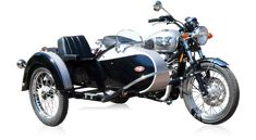 Cozzi Side by Side Cycles   Side Car Customization and Installation