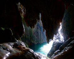 Waterfall, Outdoor, Ponytail, Natural Playgrounds, Caves, Nun, Zaragoza, Waterfalls, Outdoors