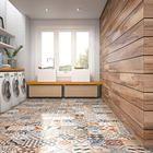 Ambientes | Eliane / piso colorido para a minha sacada