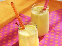 Milk Shake Refrescante de Maracujá e Limão - Veja como fazer em: http://cybercook.com.br/receita-de-milk-shake-refrescante-de-maracuja-e-limao-r-9-114222.html?pinterest-rec