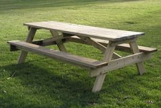 Pine Wood Picnic Table- ready to install   $175.00   http://charlyclark.com