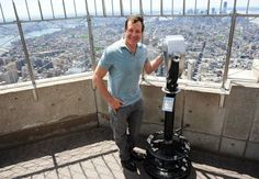 "May 11, 2012: Actor Steve Guttenberg, known for his roles in ""Police Academy"" and ""Three Men and a Baby,"" visited the 86th floor Observatory and VIP 103rd floor to celebrate the release of his new book ""The Guttenberg Bible: A Memoir."""