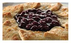 Blueberry Galette with Lime Mascarpone Cream. Lucky Leaf Pie Filling recipes curated by SavingStar Grocery Coupons. Save money on your groceries at SavingStar.com