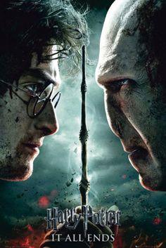 Póster Harry Potter y las Reliquias de la Muerte 2. Portada