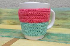 Taza De Cerámica Con Funda A Crochet - $ 155,00 en Mercado Libre