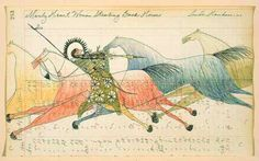 Picturing Change: The Impact of Ledger Drawings on Native American Art