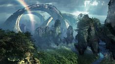More famously known as the floating mountains of Pandora in the blockbuster Avatar, the Southern Sky Column in ZhangJiaJie National Forest Park, China is . Fantasy Hd, Fantasy World, High Fantasy, Fantasy Art Landscapes, Fantasy Landscape, Landscape Wallpaper, Nature Wallpaper, Hd Wallpaper, Avatar Film
