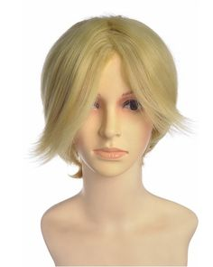 Leophin Short Blonde Wig Cosplay at nextwigs.com