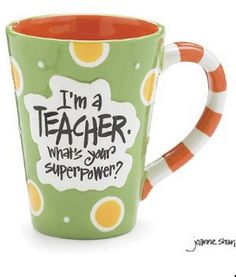 Nyla's Crafty Teaching: Gifts for Teachers - Celebrate your Super Power!