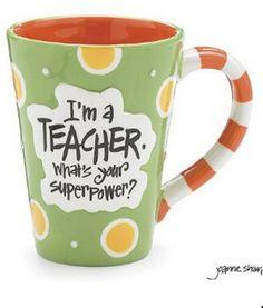 Nyla's Crafty Teaching: Coffee Cups for Teachers