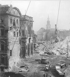 Berliner Schloss Demolition, November 1950.