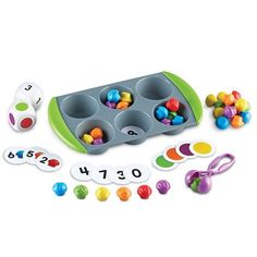 Mini Muffin Match Up-Numbers & Counting-Early Childhood-Category - Learning Resources®