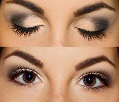 With these pictures, I think I can almost do a good smokey eye...the keyword here is 'almost'.