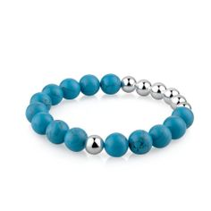 Newbridge Silverware Boho Beads Bracelet Choose your colour Trendy bracelet in funky colours to suit any style These bracelets can be worn on their Trendy Bracelets, Beaded Bracelets, Blue Beads, Aqua Blue, Turquoise Bracelet, Suit, Colours, Jewellery, Boho