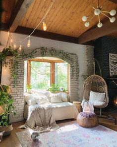 Home sweet home One of those essentials in ya house. Cozy corner Photo by … Home sweet home 😘 One of those essentials in ya house. Cozy corner 🌌 Photo by Source Sweet Home, Cozy Corner, Aesthetic Rooms, Home And Deco, Dream Rooms, House Rooms, My Dream Home, Room Inspiration, Interior Inspiration