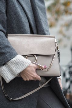 motty grey Chloe Faye bag