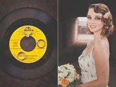 love the scoop neck  vintage wedding | Tumblr