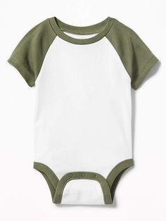 c164f2163 Color-Block Raglan Bodysuit for Baby. Maternity WearOld NavyMy BoysOur ...