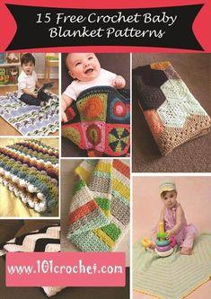 15 Free Crochet Baby Blanket Patterns – 101 Crochet