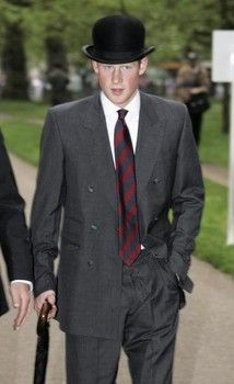2006: Prince Harry takes part in the Annual Parade and Service of the Combined Cavarly Old Comrades  Association