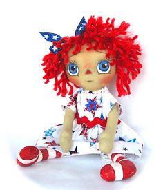 *RAGGEDY ANN ~ Cotton Candy Dolls