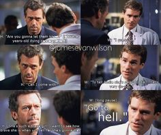 Sometimes House shows a nasty, brutish side. This is one such scene. #housemd