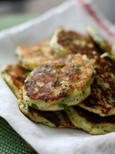 Ricotta and Spinach Fritters Recipe | AggiesKitchen.com  #vegetarian #spinach #snack