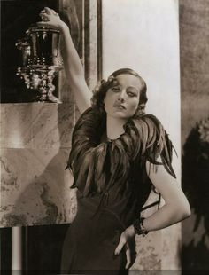 1932 Joan Crawford--Decaying Hollywood Mansion's