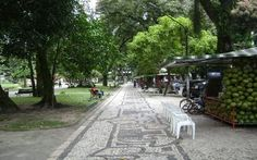 Mosaici nella Praça Batista Campos - Belém do Parà, foto: portalamazonia.com.br