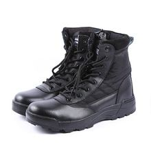 Basic Boots Hot Sale Mens Ankle Boots Mountaineering Cotton-padded Shoes Outdoor Safety Work Winter Leather Warm Lace-up High-top 6 Inch Backpacking Year-End Bargain Sale
