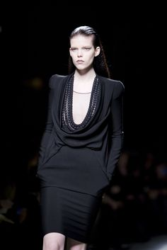 Looks from the designer Riccardo Tisci of Givenchy.