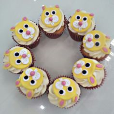 Our cute Easter Bunny Rabbit cupcakes! All our cupcakes are baked from original recipes using the best locally sources ingredients. Take a few minutes to follow us and check out more of our wonderful cakes!