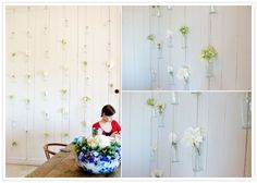 DIY Wedding Round Up | DIY Flower Wall