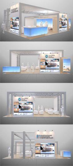 RFC. Exposición Diseño Stands en Behance