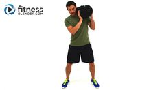 Total Body Sandbag Training for Fat Burning, Strength & Endurance - 26 Minute Sandbag Workout Video - Fitness Blender