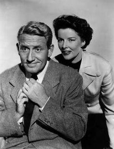 Katharine Hepburn & Spencer Tracy