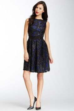 Isaac Mizrahi Sleeveless Soutache Party Dress by Non Specific on @HauteLook
