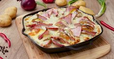 Сырный картофель - вкуснейший ужин » Женский Мир