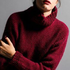 Le pull tendance à tricoter!