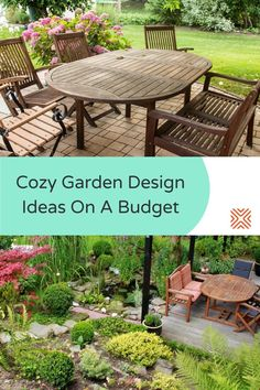 When it comes to transforming an outdoor living space, there's plenty of budget-friendly design ideas to try! We've put together a list of the best garden design ideas that will transform your garden space for less. Garden Design Ideas On A Budget, Small Garden Design, Garden Ideas, Hydrangea Bush, Diy Hammock, Outdoor Tables, Outdoor Decor, Backyard Makeover, Al Fresco Dining