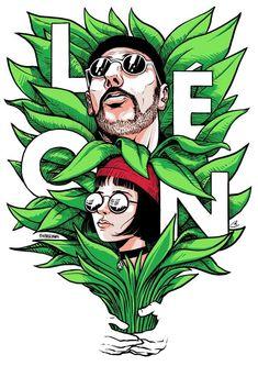 Leon: the professional - Leon and Mathilda Professional Wallpaper, The Professional Movie, Professional Poster, Leon The Professional Mathilda, Mathilda Lando, Art Sketches, Art Drawings, Jean Reno, Gary Oldman