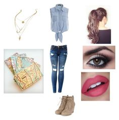 """""""Let's run away and never come back"""" by friends-forever-and-always ❤ liked on Polyvore"""