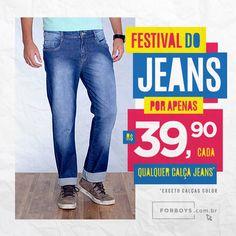 #FestivalDoJeans #JeansDePromo