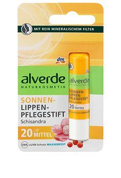 alverde Sonnen-Pflege-Lippenstift Schisandra LSF 20 Make Up, Dm, Accessories, Organic Beauty, Solar Shades, Lipstick, Nursing Care, Makeup, Beauty Makeup