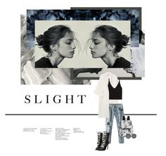 """SLIGHT"" by missmelodies ❤ liked on Polyvore featuring Monki, LeSportsac, Erdem and Zara"