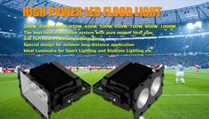 Perfect Stadium Lighting Solution by Choosing High Power Led Flood Light Heat Pipe, Led Flood Lights, Power Led, Lighting Solutions, Pure Products, Led Projector